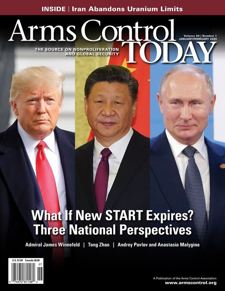Arms Control Today, News in Brief, January-February 2020