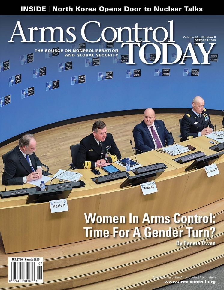 Arms Control Today, News in Brief, October 2019